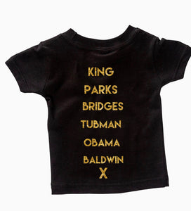 kids Historical Figures (BHM inspired) ss crewneck t-shirts