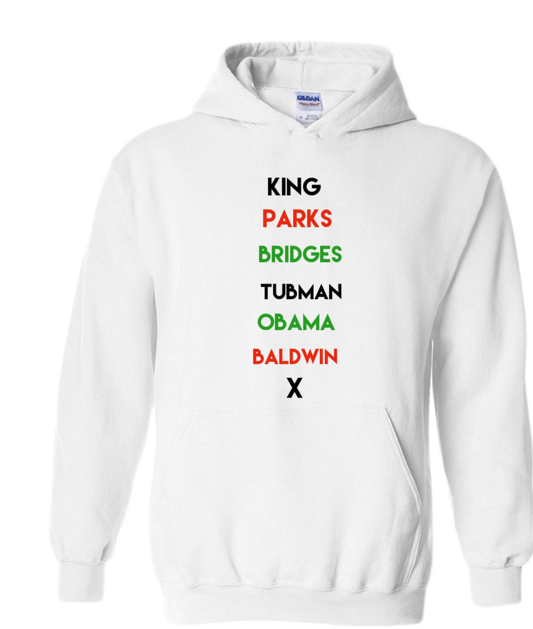 Kids Historical Figures (BHM inspired) hoodies