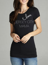 Load image into Gallery viewer, Love Destination Mama ss crewneck fitted t-shirt