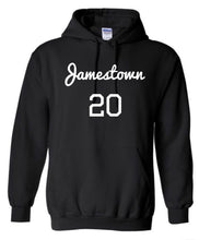 Load image into Gallery viewer, Jamestown 20+ (BHM inspired) hoodie