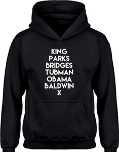 Historical Figures (BHM inspired) hoodies