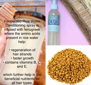 Fenugreek Fermented Rice Water Conditioning Spray