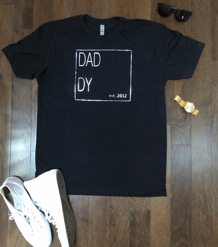 Daddy Established crewneck short sleeve t-shirt