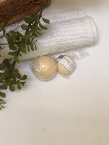 Himalayan Sea Salt Spa Fizzy/Foaming Bath Bombs
