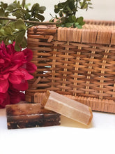 Load image into Gallery viewer, Herbal Infused cleansing+skin conditioning glycerin soap