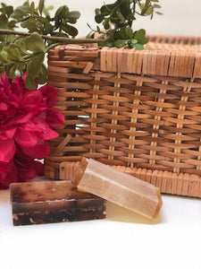 Herbal Infused cleansing+skin conditioning glycerin soap