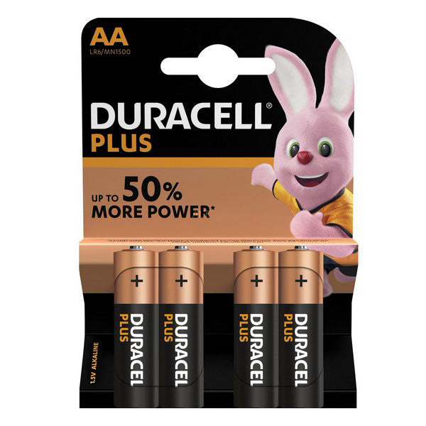 🅿 Pilas Plus Power Lr06 DURACELL (4 uds) - Alcabi