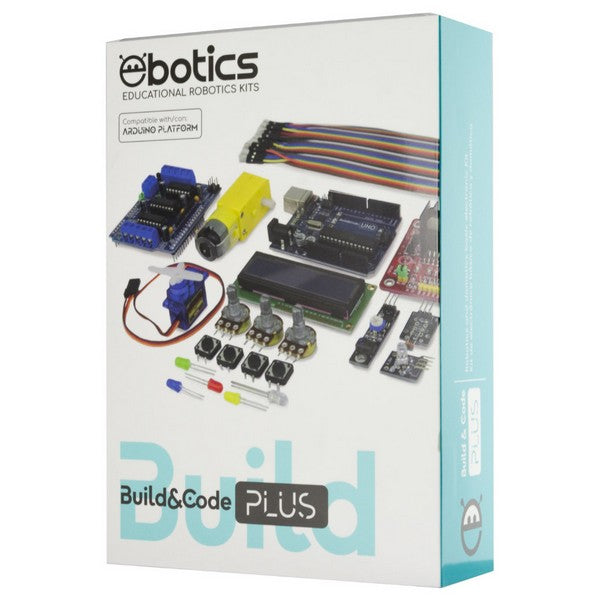 Kit de Electrónica Build & Code Plus