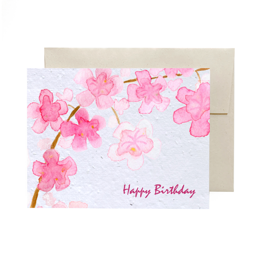 Cherry Blossom | Plantable Card