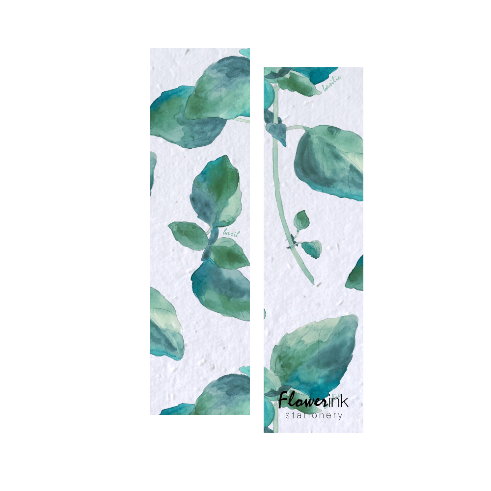 Basil | Plantable Bookmark