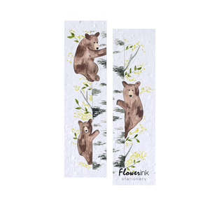 Little Bears | Plantable Bookmark