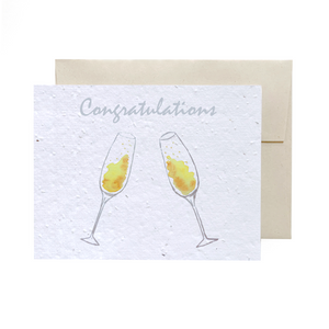 Champagne | Plantable Card