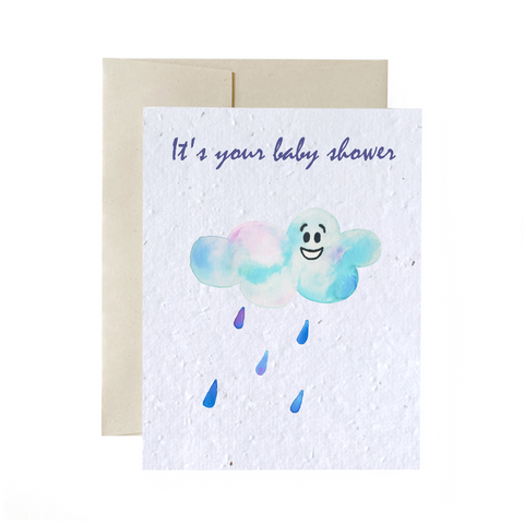 Baby Shower | Plantable Greeting Card
