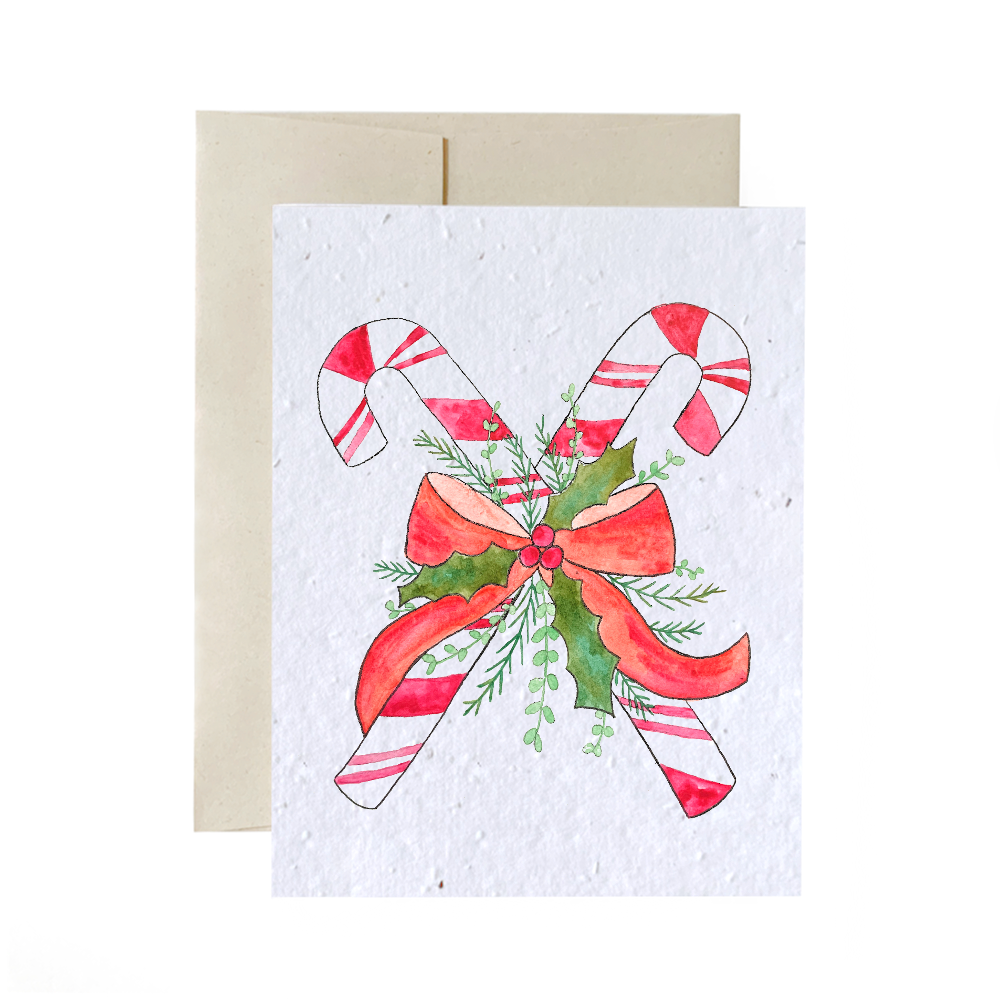 Candy Cane | Plantable Card