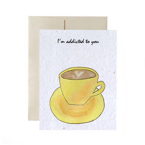 Coffee Addict | Plantable Card