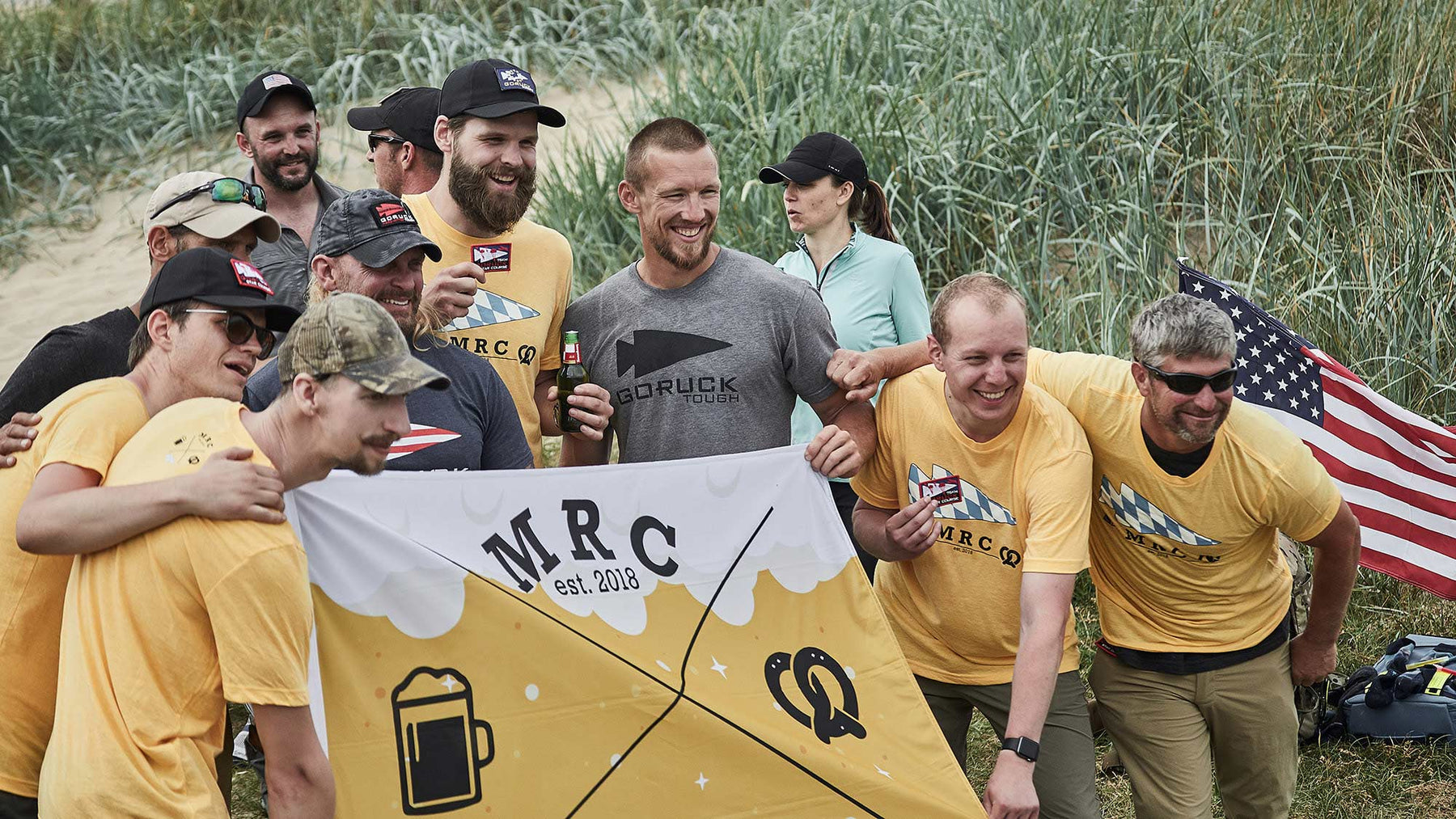 Munich GORUCK Club at Normandy GORUCK Challenge 2019