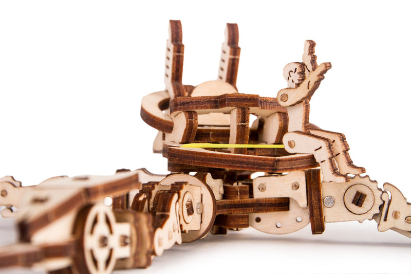 Time_for_machine_-_Arachnid_model_kit_-_3d_wooden_mechanical_model