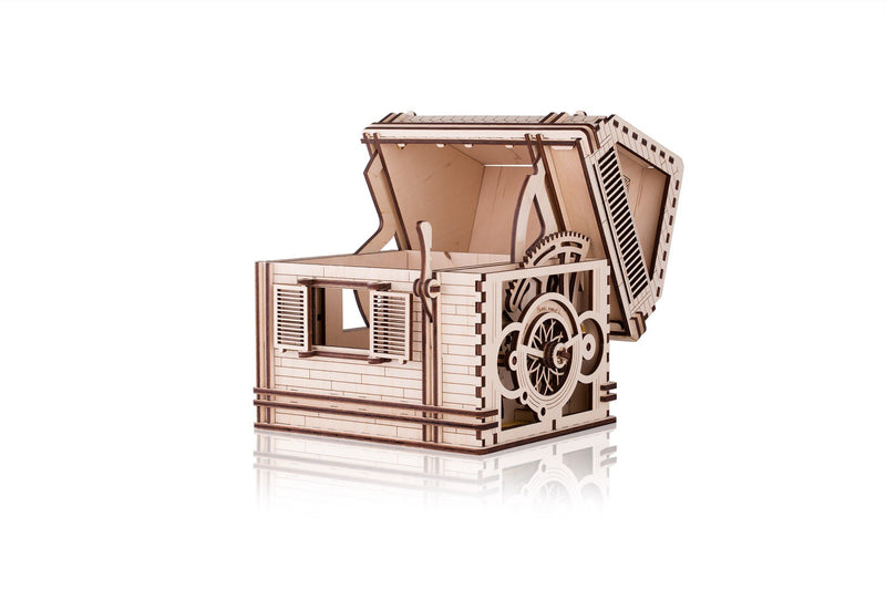Time 4 Machine - Sweet Home wooden toy - Wooden Mechanical models
