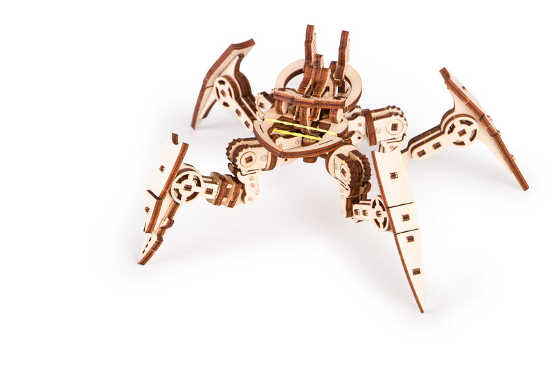 Time_for_machine_-_Arachnid_model_-_3d_wooden_puzzle