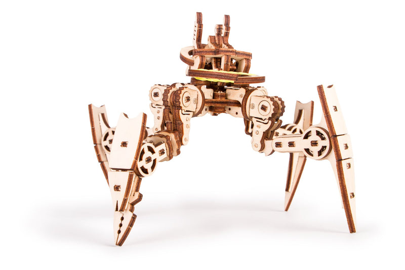 Time_for_machine_-_Arachnid_model_kit_-_3d_wooden_mechanical_Construction_Set