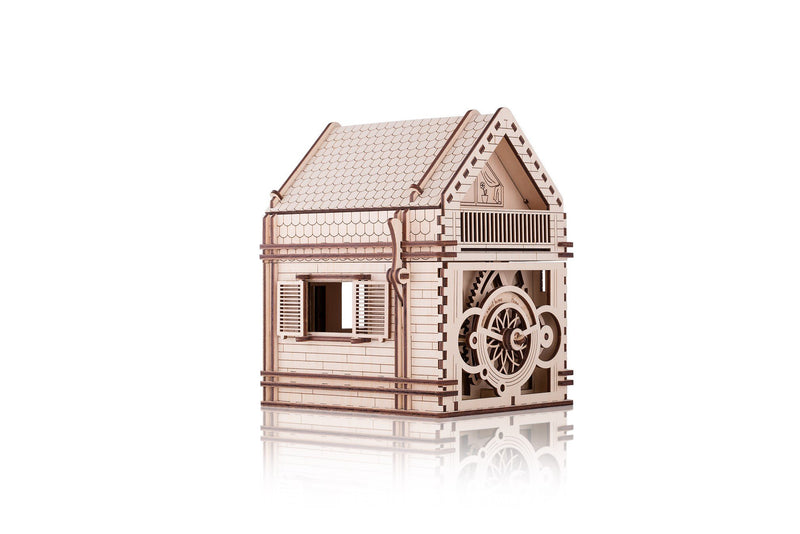Time 4 Machine - Sweet Home  model kit - 3d Wooden Mechanical models