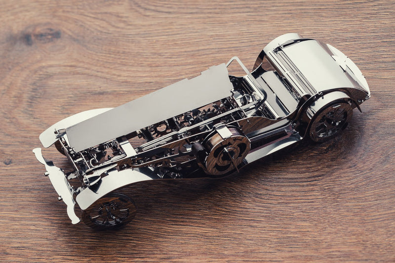 Glorious Cabrio, Metal toy, Time 4 Machine, DIY metal toy