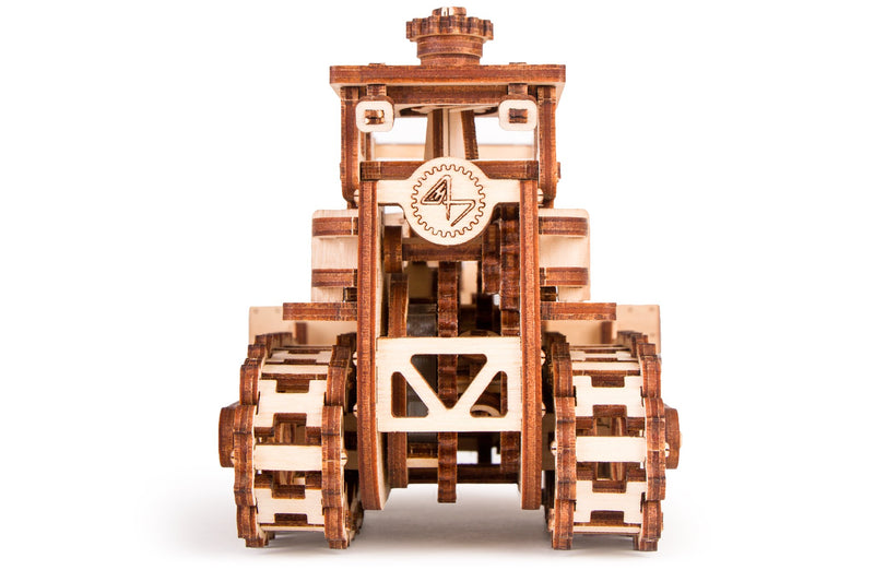 Time 4 Machine - Push Dozer-  model kit - 3d Wooden Mechanical models