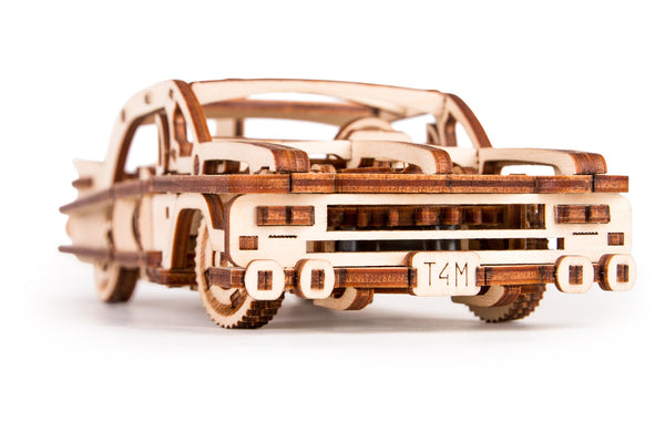 Time 4 Machine - Elvis Car model kit- 3D Wooden Mechanical models