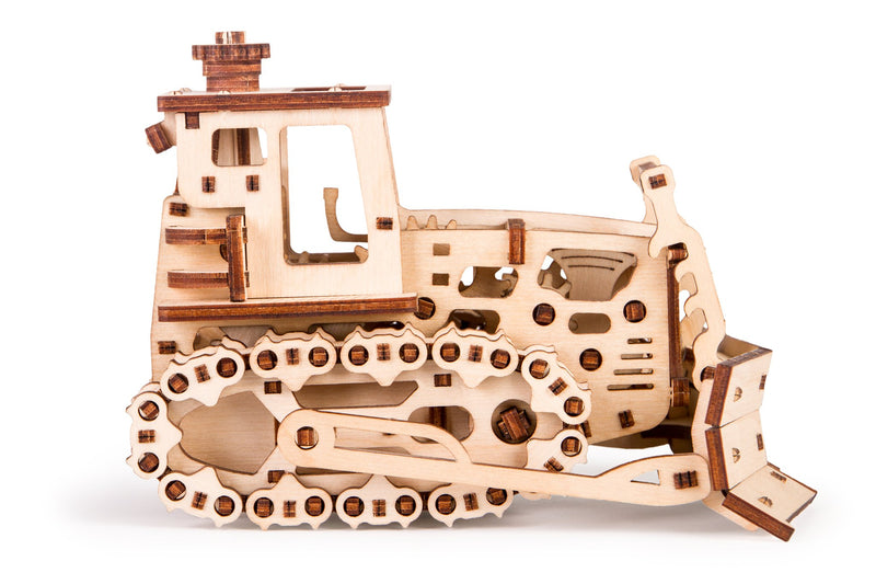 Time 4 Machine - Push Dozer - Wooden toy - 3d wooden puzzle building
