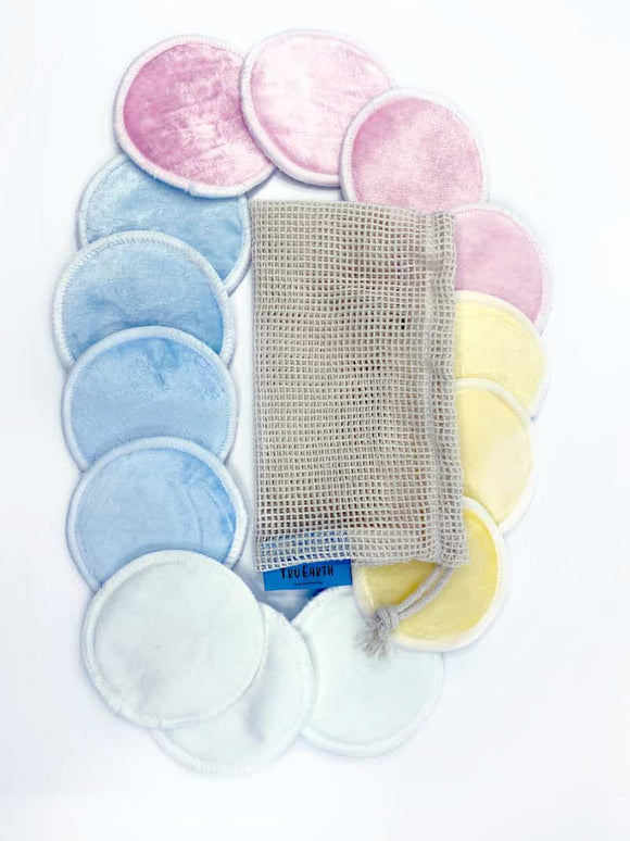 Tru Earth Bamboo Rounds Reusable Makeup Remover Pads
