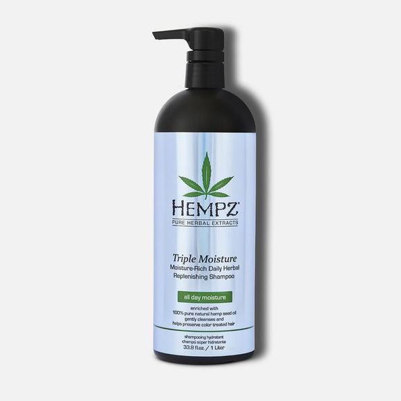 HEMPZ Triple Moisture Replenishing Shampoo 1L