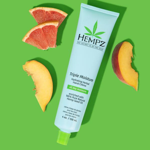 HEMPZ Triple Moisture Hydrating Herbal Hand Creme 120ml