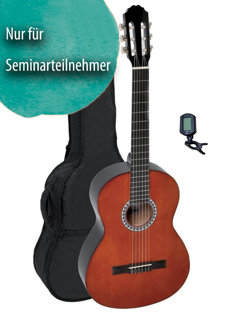 Leihgitarre PURE GEWA Konzertgitarre Basic Set 4/4