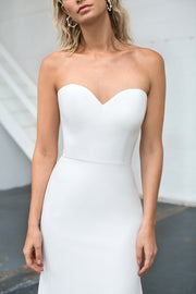 The Cleo Strapless Wedding dress