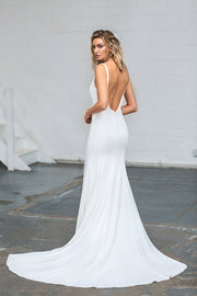 The Coco Backless Wedding Dress