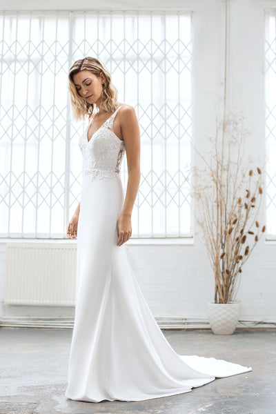 The Rita Lace Wedding Dress