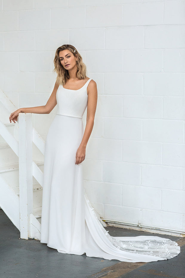 The Thea A Line Wedding Dress