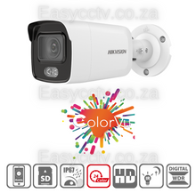 Load image into Gallery viewer, Hikvision 2MP ColorVu IP Camera - DS-2CD2027G1-L