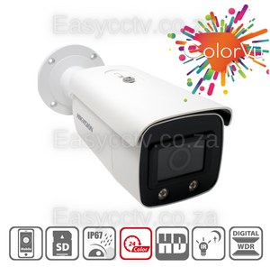 Hikvision 4MP ColorVu IP Camera - DS-2CD2T47G1-L