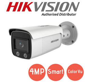 Hikvision 4MP ColorVu IP Camera - DS-2CD2047G1-L