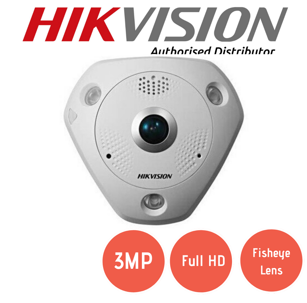 DS-2CD6332FWD-IV / P Fisheye Dome Camera