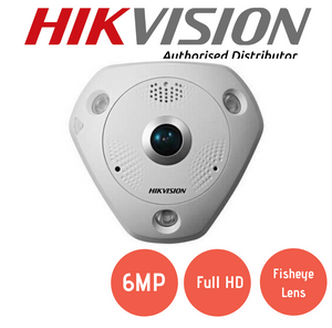 DS-2CD6362F-IVS Fisheye Dome Camera