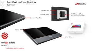 Hikvision DS-KH8350-WTE1 Indoor Station