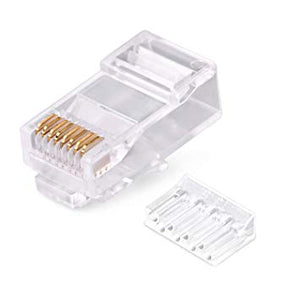 CAT6 RJ45 Connector (Pack of 80)