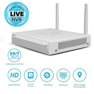 EZVIZ ezWireless Full HD WiFi CCTV 8 Channel Kit