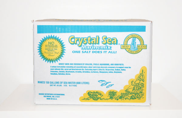 Salt - Crystal Sea Marine Mix Formulation (150 Gallon)