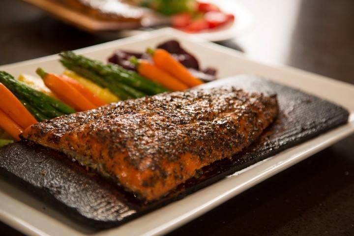 24 oz Cedar Planked Atlantic Salmon - Sugar & Spice