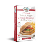 Atlantic Salmon Burgers/Burgers de saumon de l'atlantique