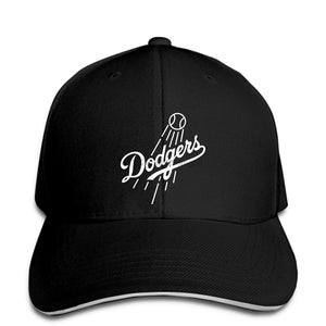 Dodgers - Blue Men Baseball Cap Fan Baseball LA Los Angeles Champs   Snapback Cap Women Hat Peaked