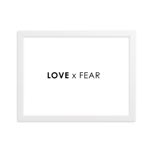 LOVE x FEAR - WHITE